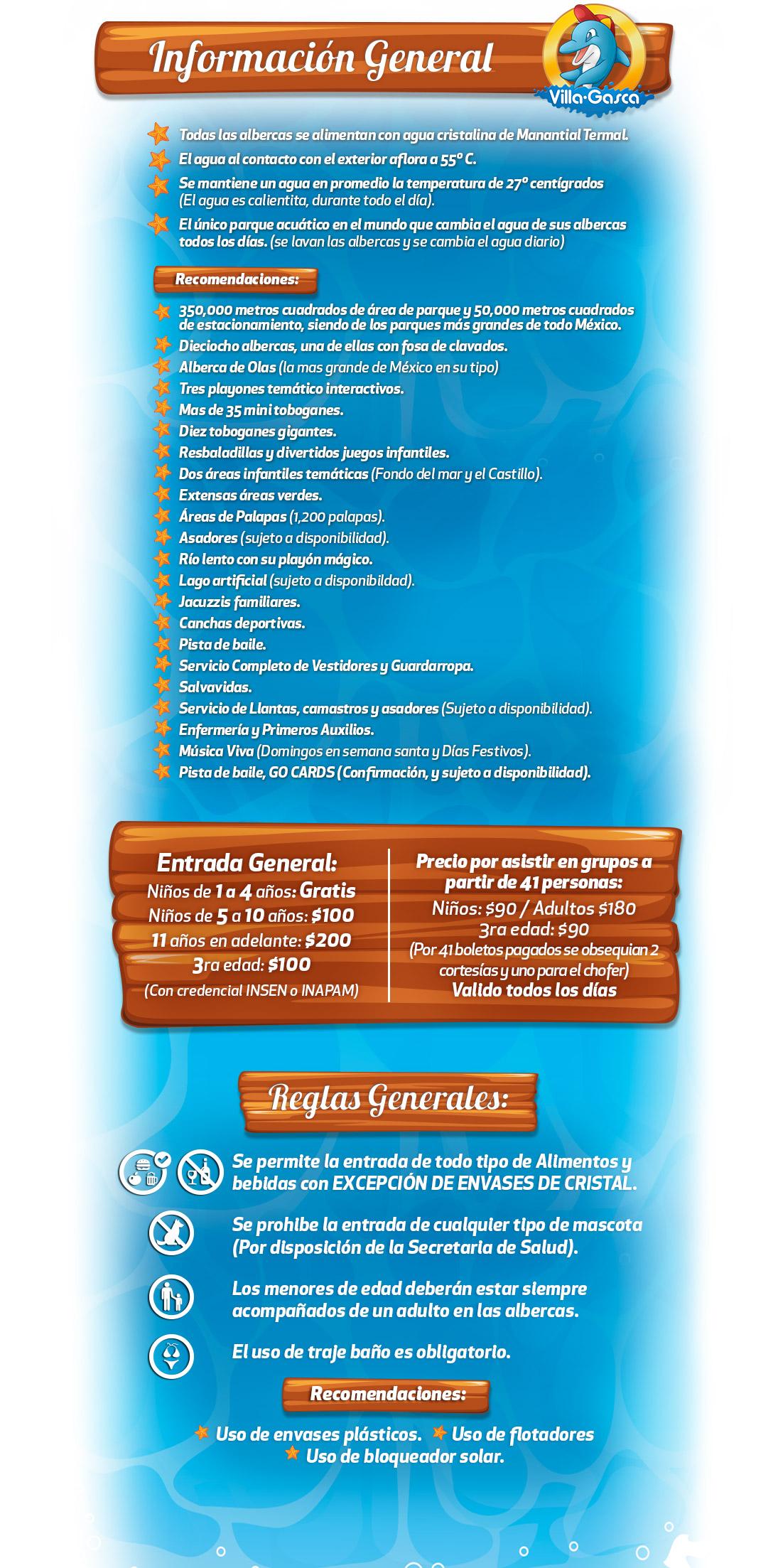 Información General Accesos al Parque Villagasca