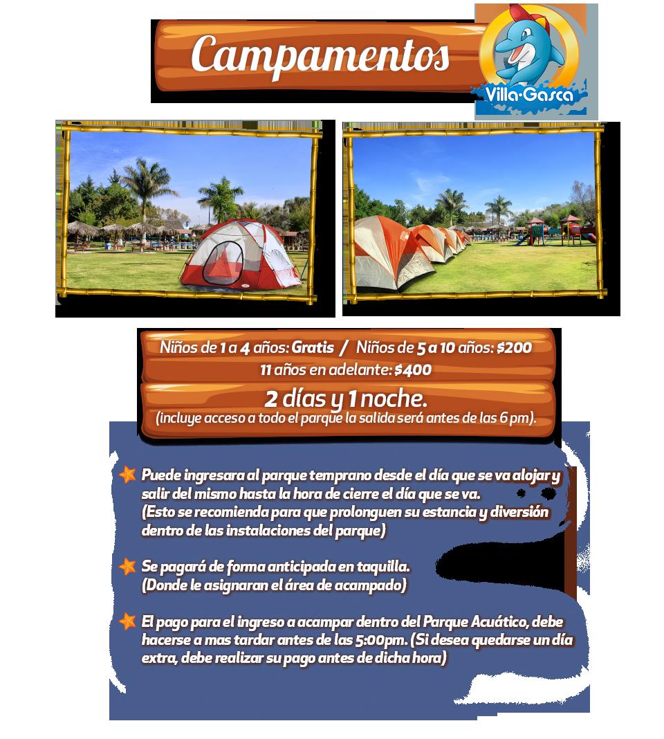 Campamentos Villagasca